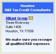 Featured R&D Tax Credit Consultants Listing